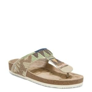 Sam Edelman Shoes - Sam Edelman | Olivie 5 Footbed Thong Sandal